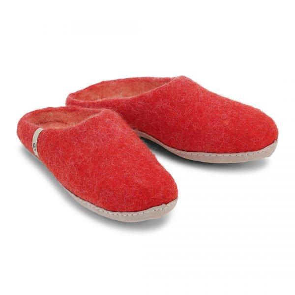 wool felt slippers
