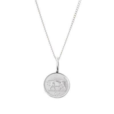 Irish 5p coin