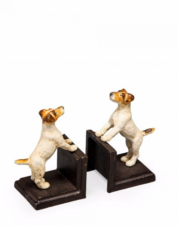 Jack Russell Terrier Bookends