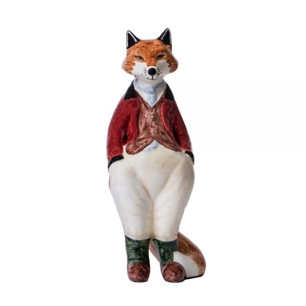 Country Friends Freddie Fox Ceramic- Red Coat