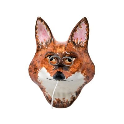 Fox String and Scissors Holder