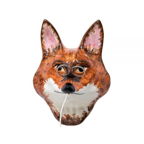 Fox String and Scissors Holder
