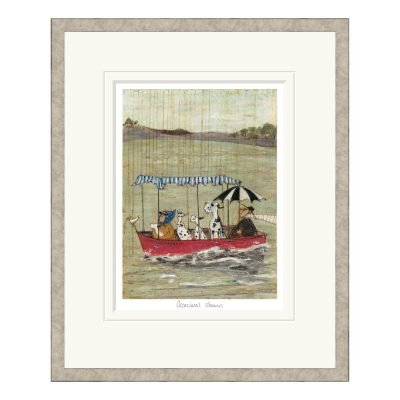 Occasional Showers Framed Print