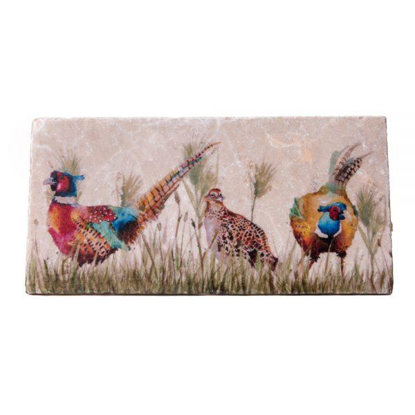 Pheasants Sharing Platter