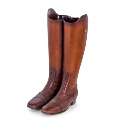 Riding Boots Umbrella Stand