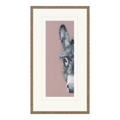 Shrinking Violet Framed Print