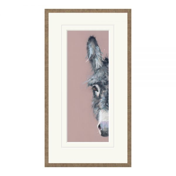 Shrinking Violet Framed Print