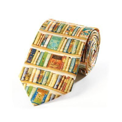 Silk Tie Hobbies Bookshelf