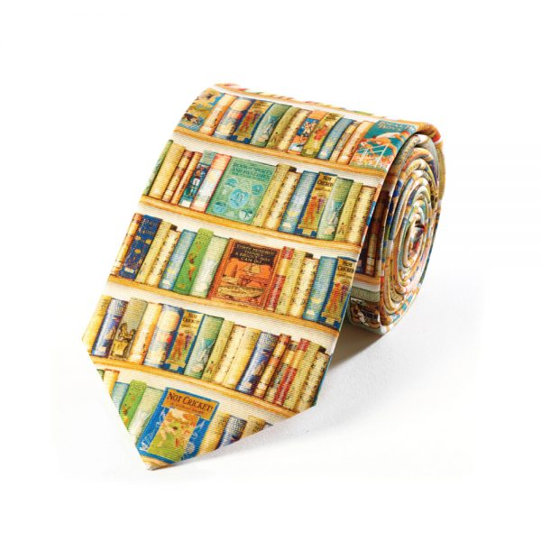 Silk Tie Hobbies Bookshelf