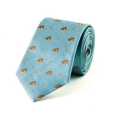 Silk Tie Horse Head