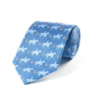 Silk Tie – Bookies' Favourite Blue