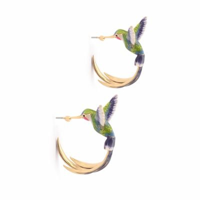 birds of paradise hoops
