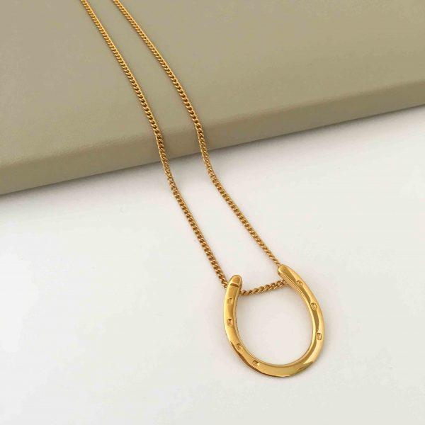 gold horseshoe
