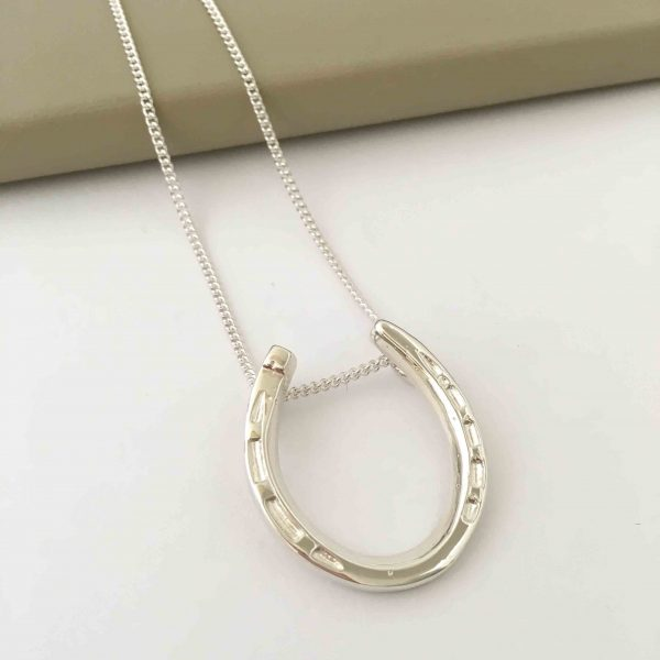 silver horseshoe