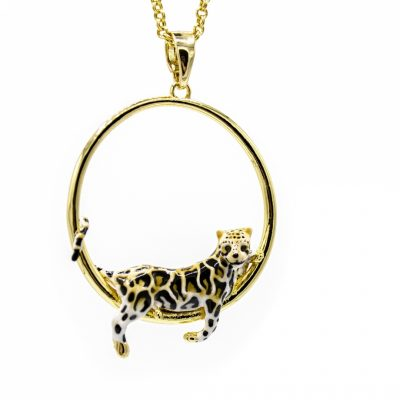 LeopardHoopNecklace